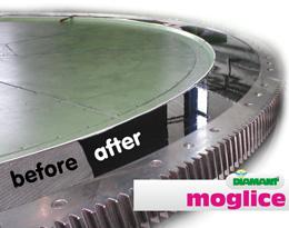 Ремонт поверхности нанесением Моглайс - Moglice