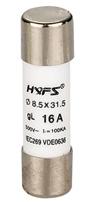 Цилиндрические предохранители (плавкие вставки) 8х32 мм